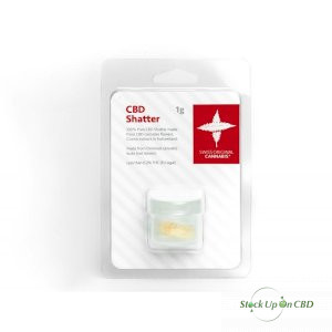 Swiss Original Cannabis - Premium CBD Shatter 1g