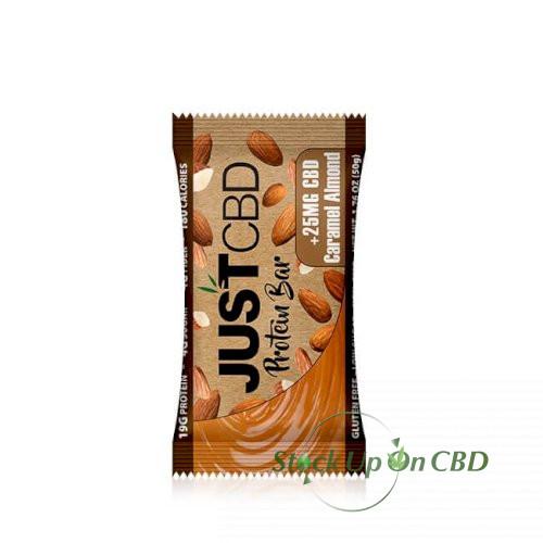 JustCBD Caramel Almond