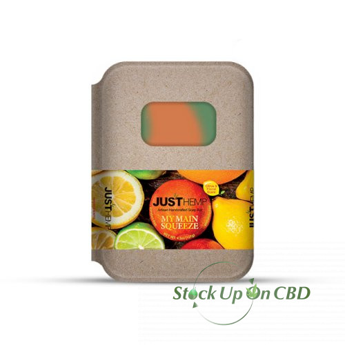 JustCBD Hemp Soap Citrus